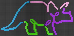 Alpha pattern #49460