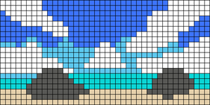 Alpha pattern #49467
