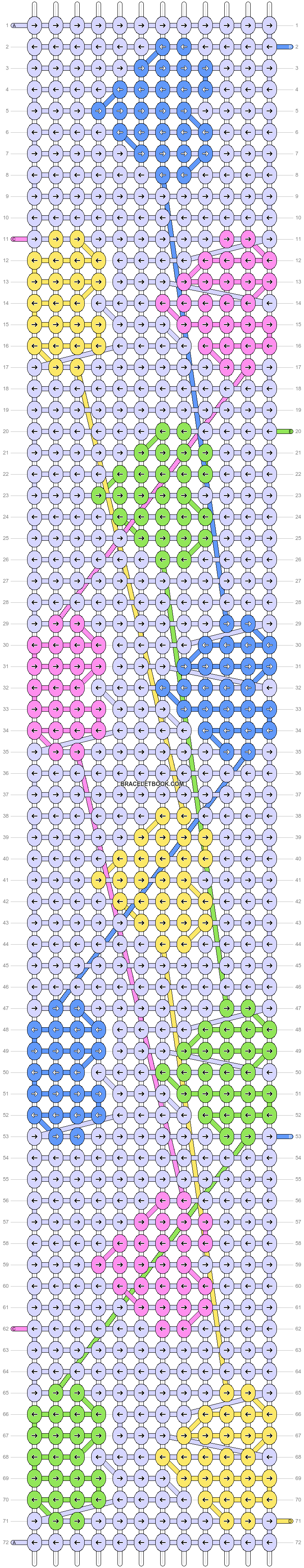 Alpha pattern #49468 pattern