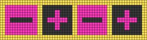 Alpha pattern #49475