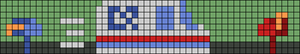 Alpha pattern #49478
