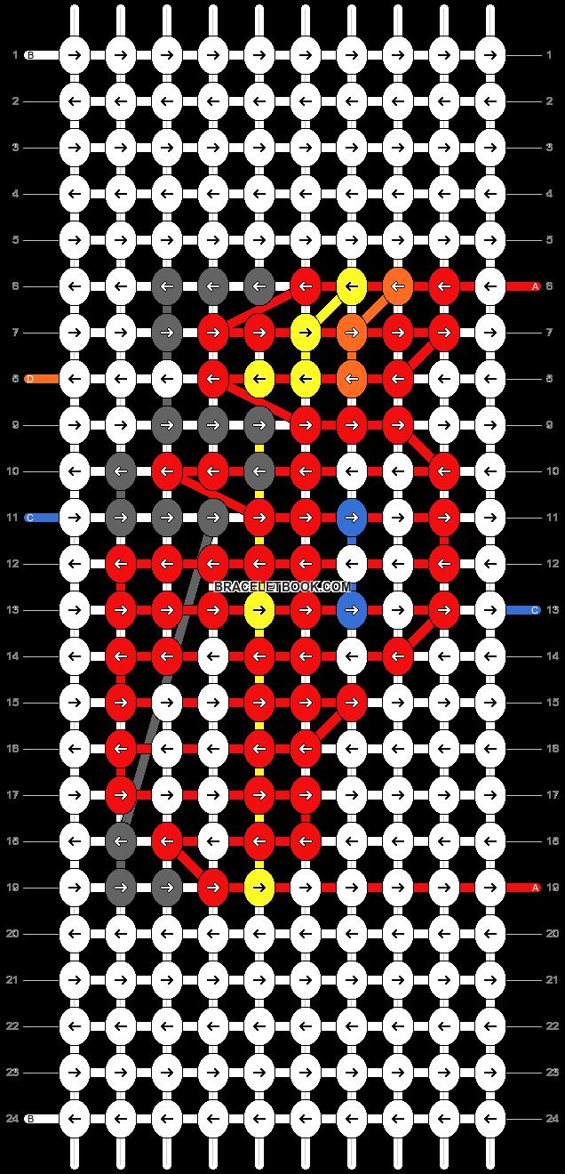 Alpha pattern #49490 pattern