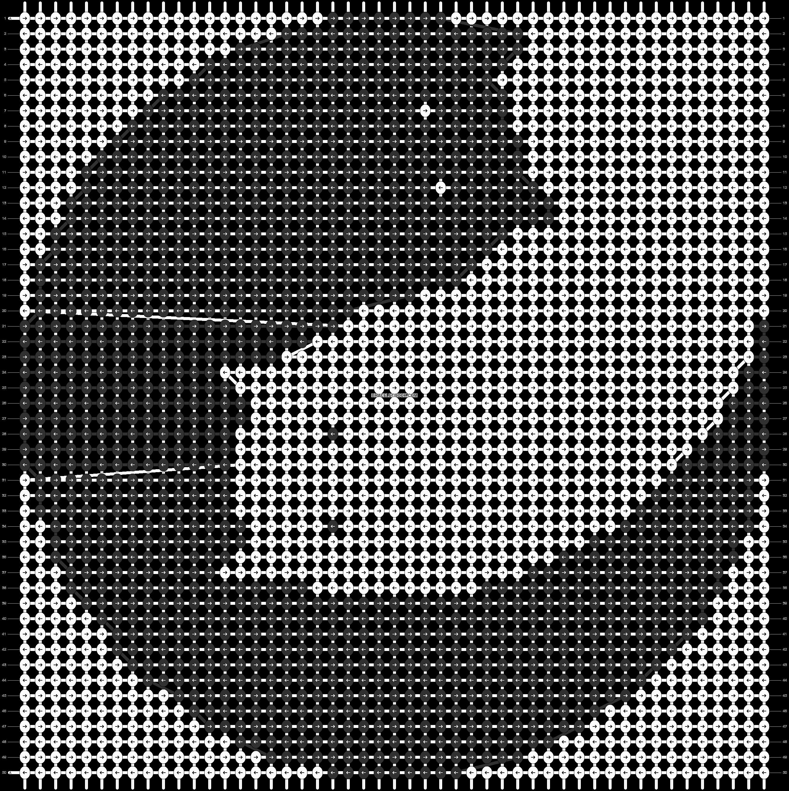 Alpha pattern #49521 pattern