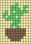 Alpha pattern #49522