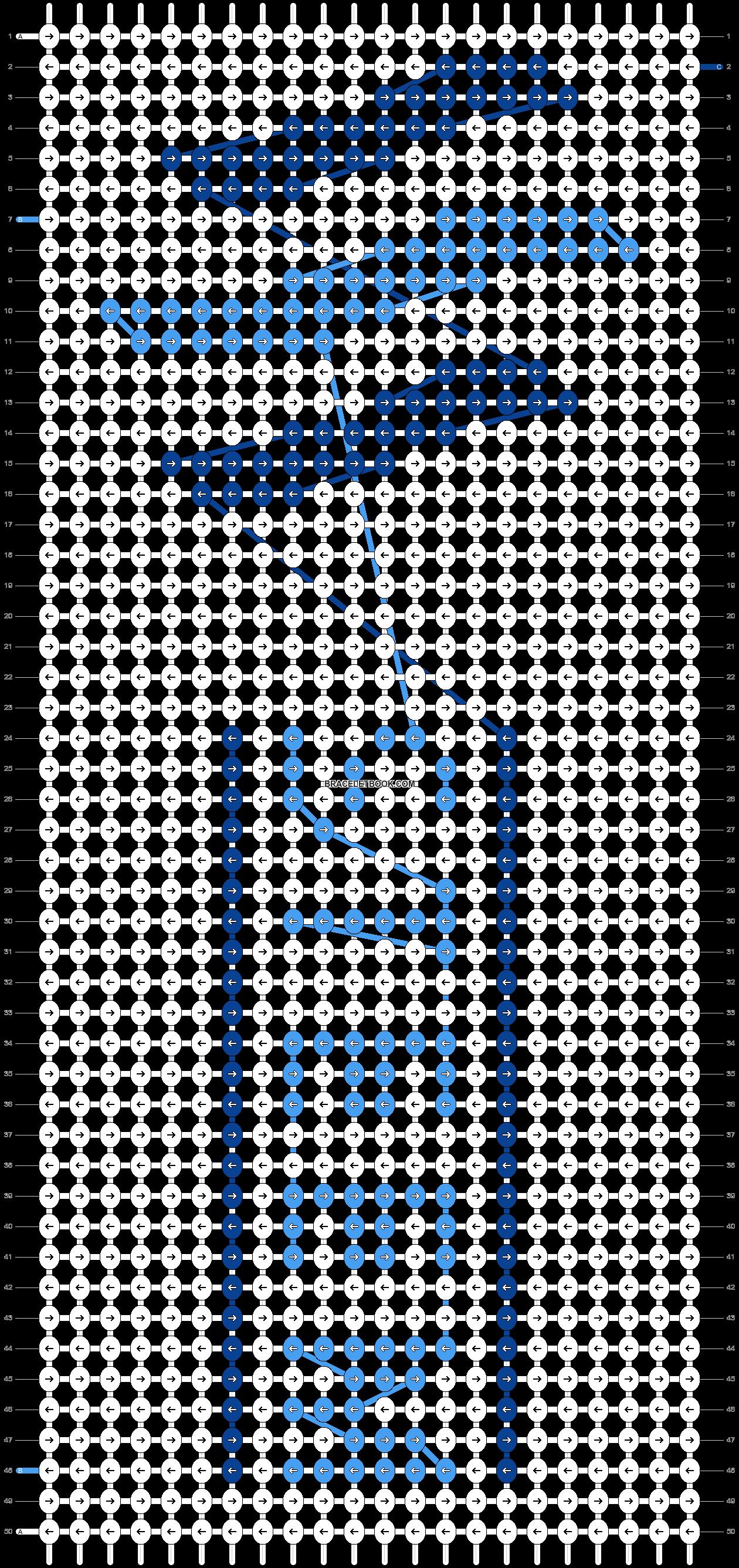 Alpha pattern #49527 pattern