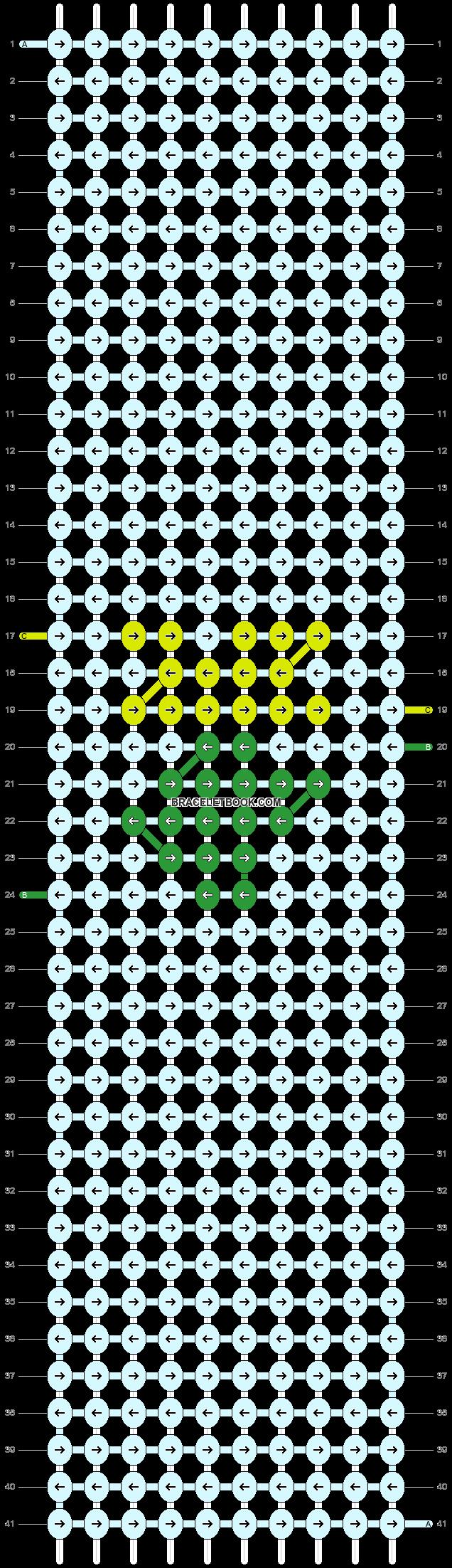 Alpha pattern #49563 pattern