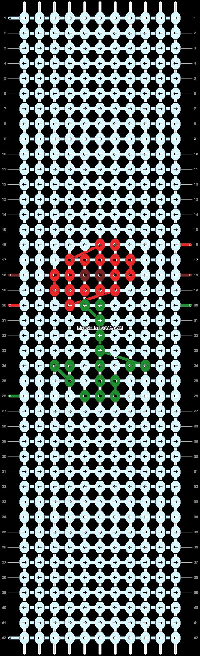 Alpha pattern #49566 pattern