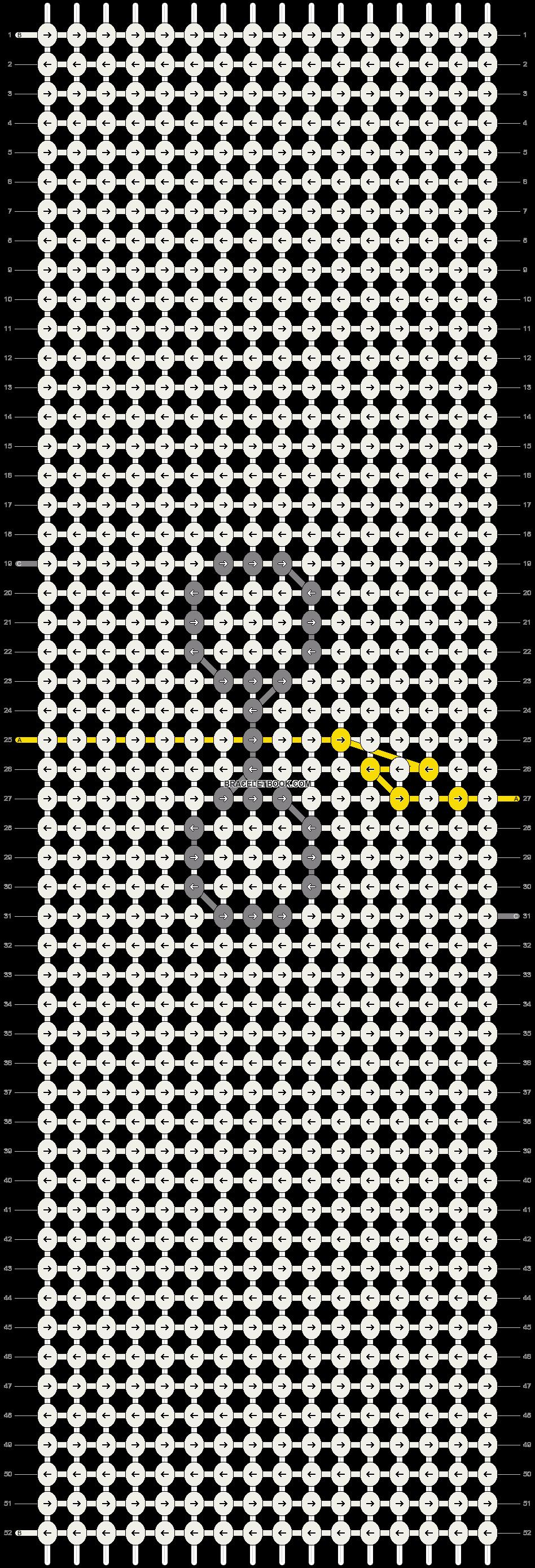 Alpha pattern #49576 pattern