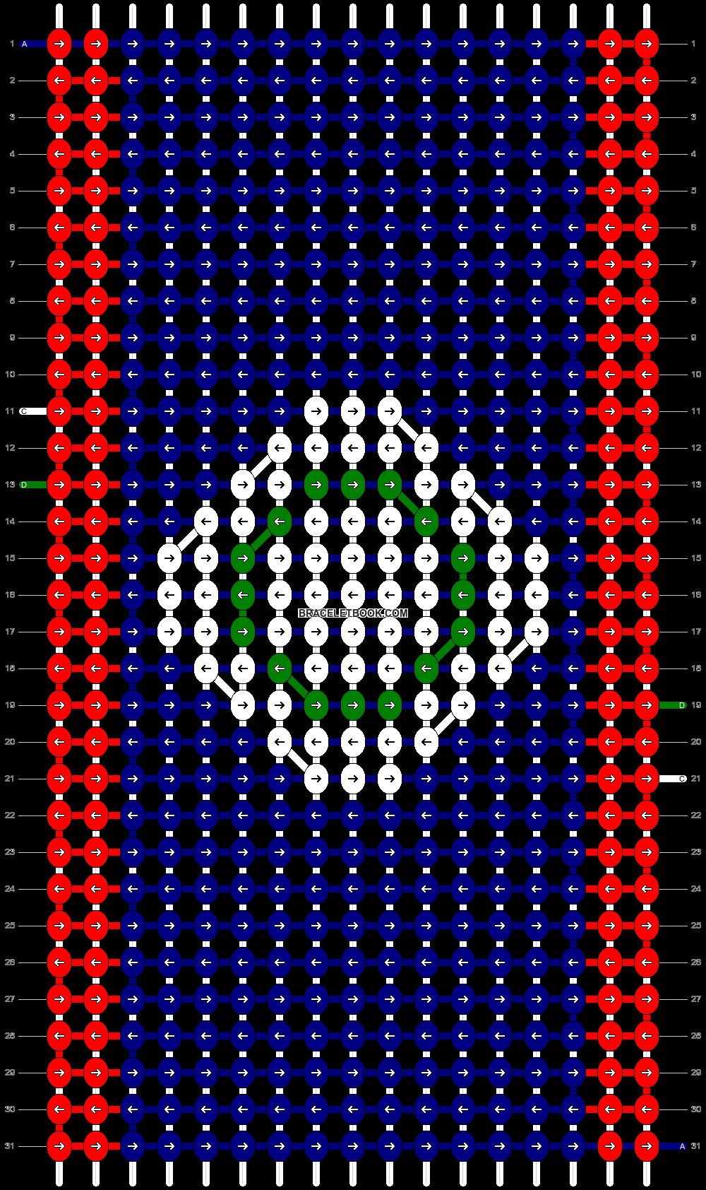 Alpha pattern #49603 pattern