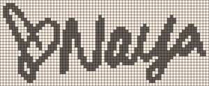 Alpha pattern #49604