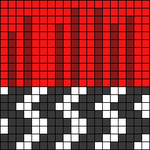 Alpha pattern #49606