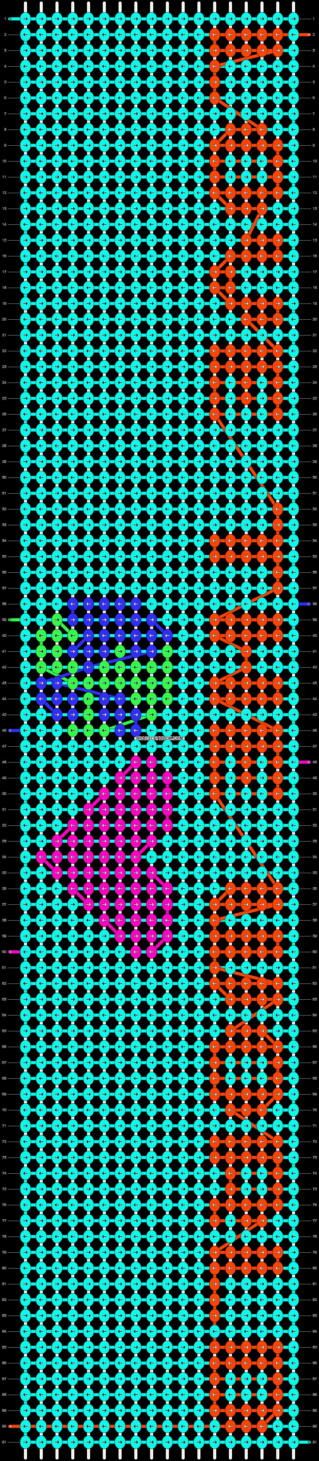 Alpha pattern #49615 pattern