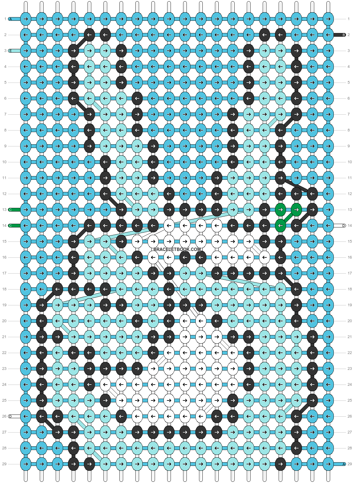 Alpha pattern #49617 pattern