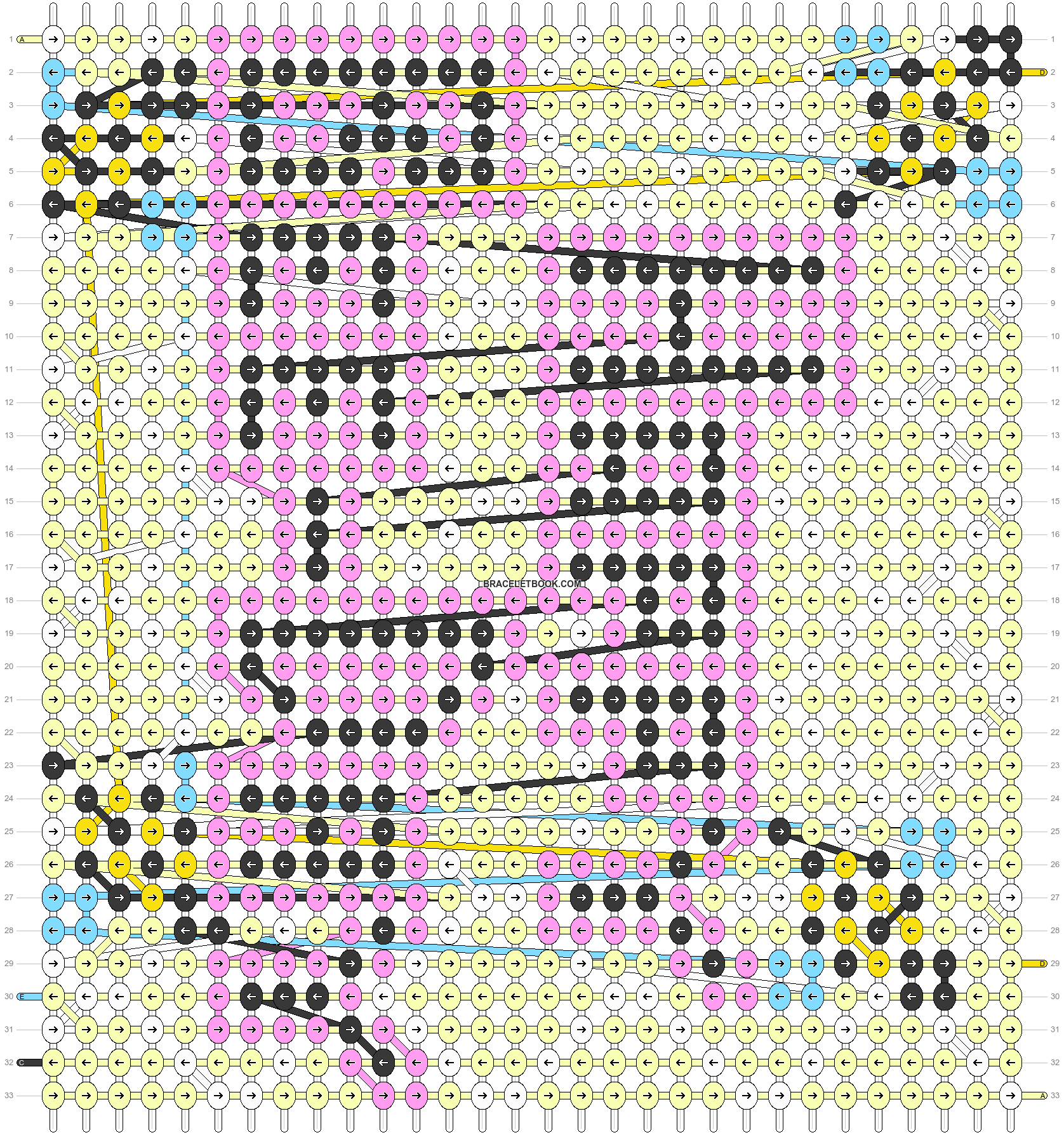 Alpha pattern #49628 pattern