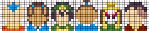 Alpha pattern #49634