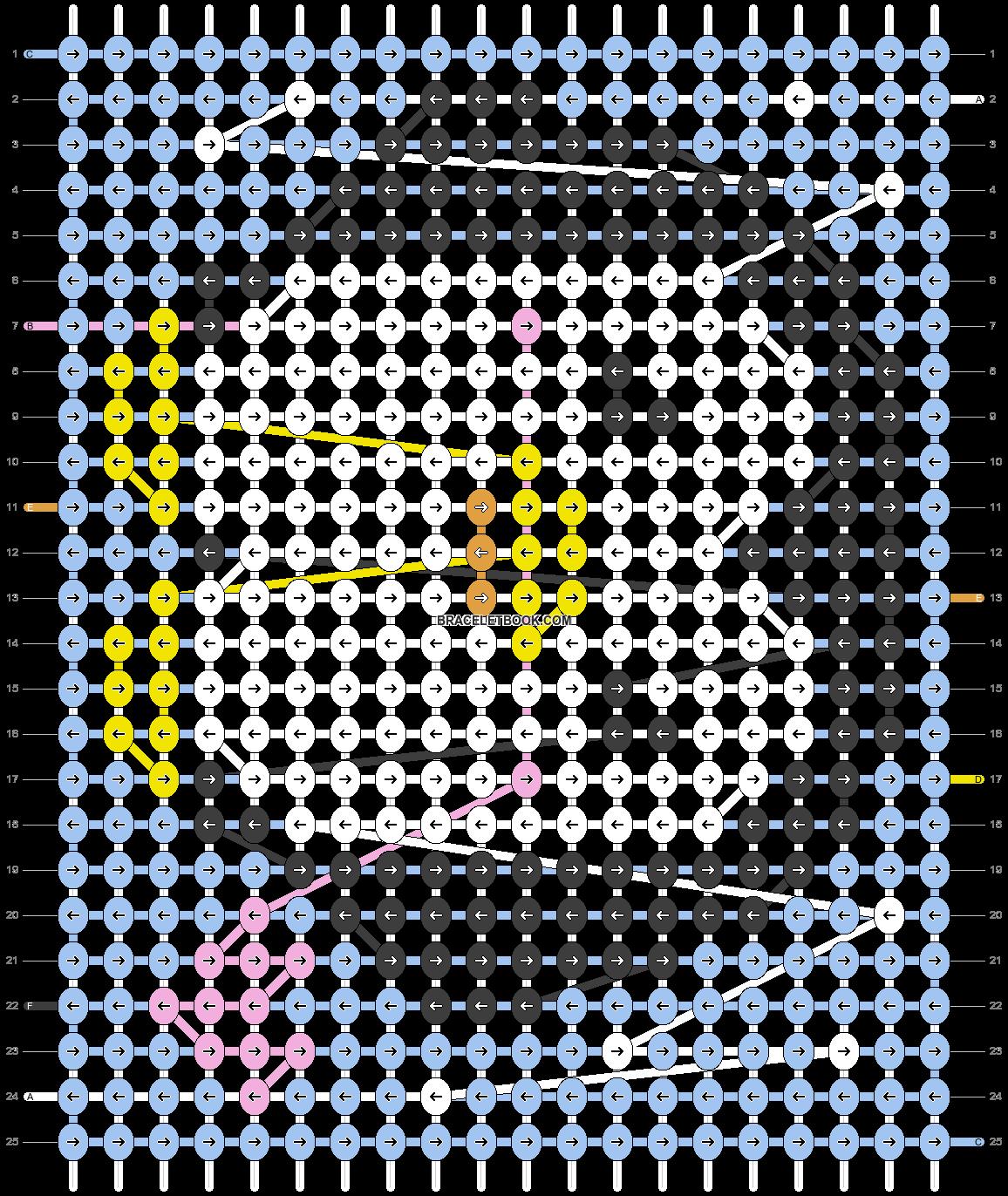 Alpha pattern #49665 pattern
