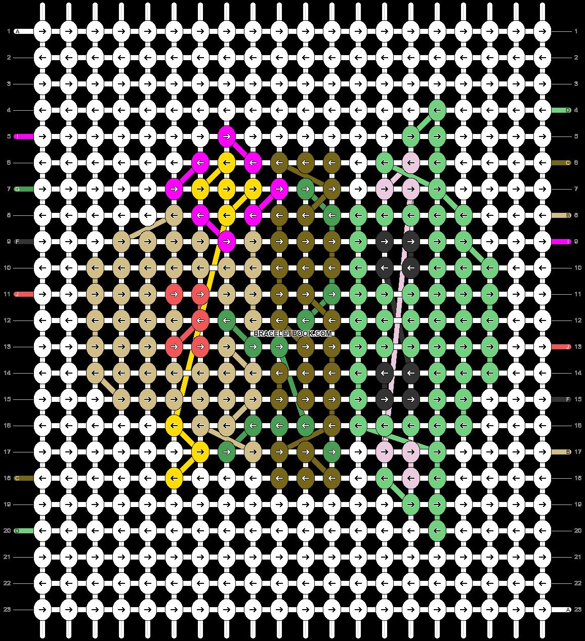 Alpha pattern #49689 pattern