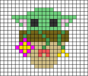 Alpha pattern #49689