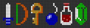 Alpha pattern #49696