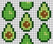Alpha pattern #49698