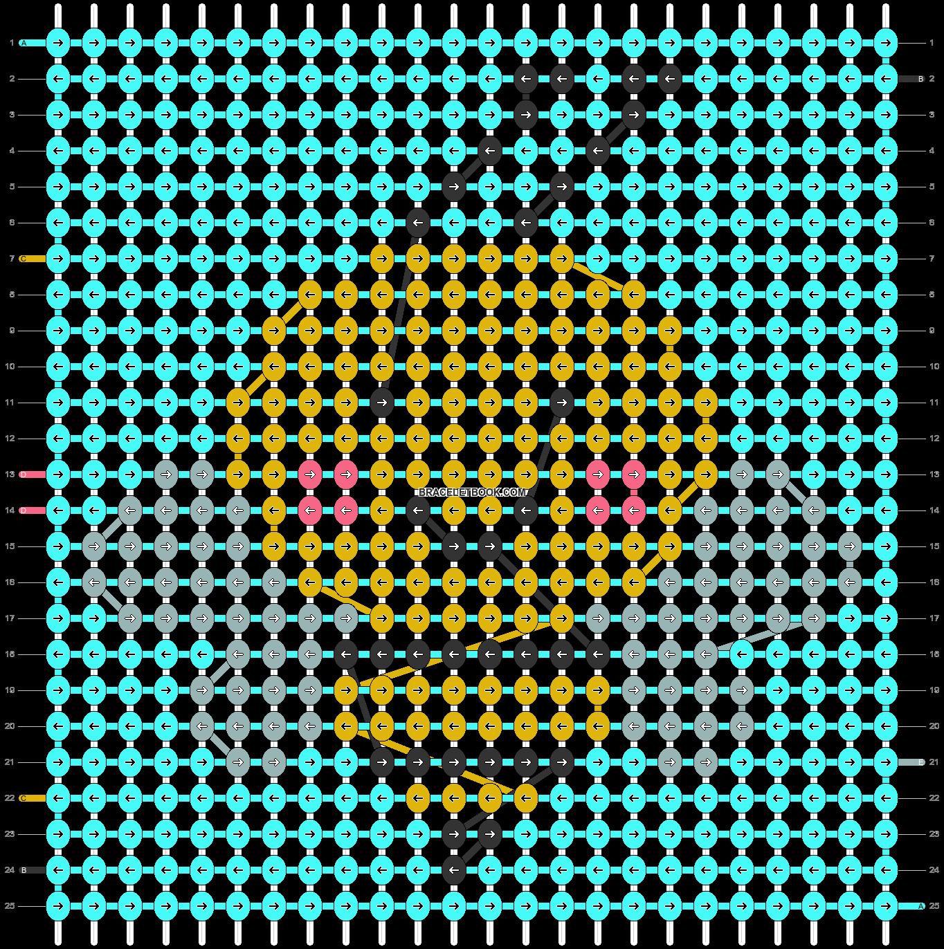 Alpha pattern #49709 pattern