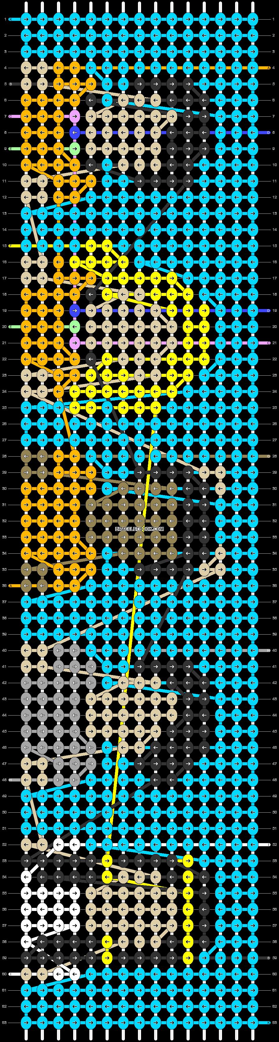 Alpha pattern #49720 pattern