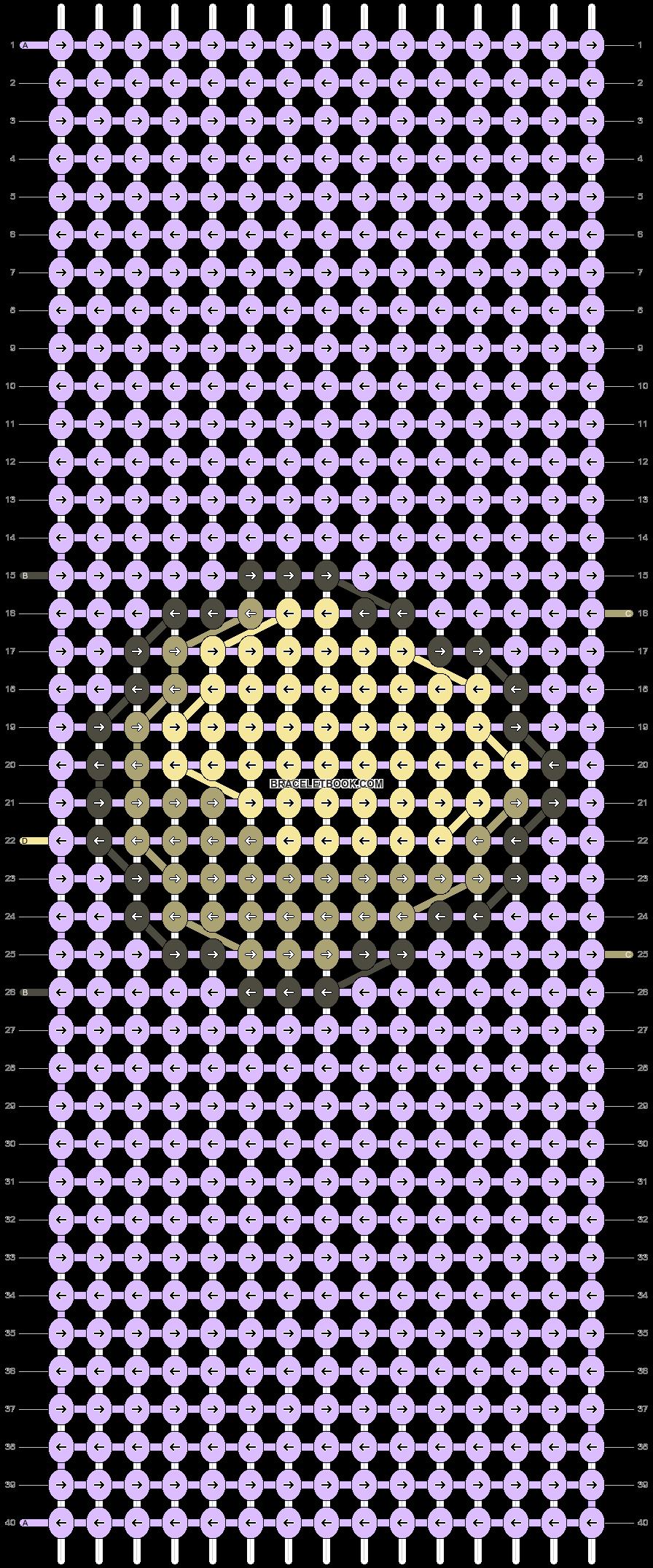 Alpha pattern #49735 pattern