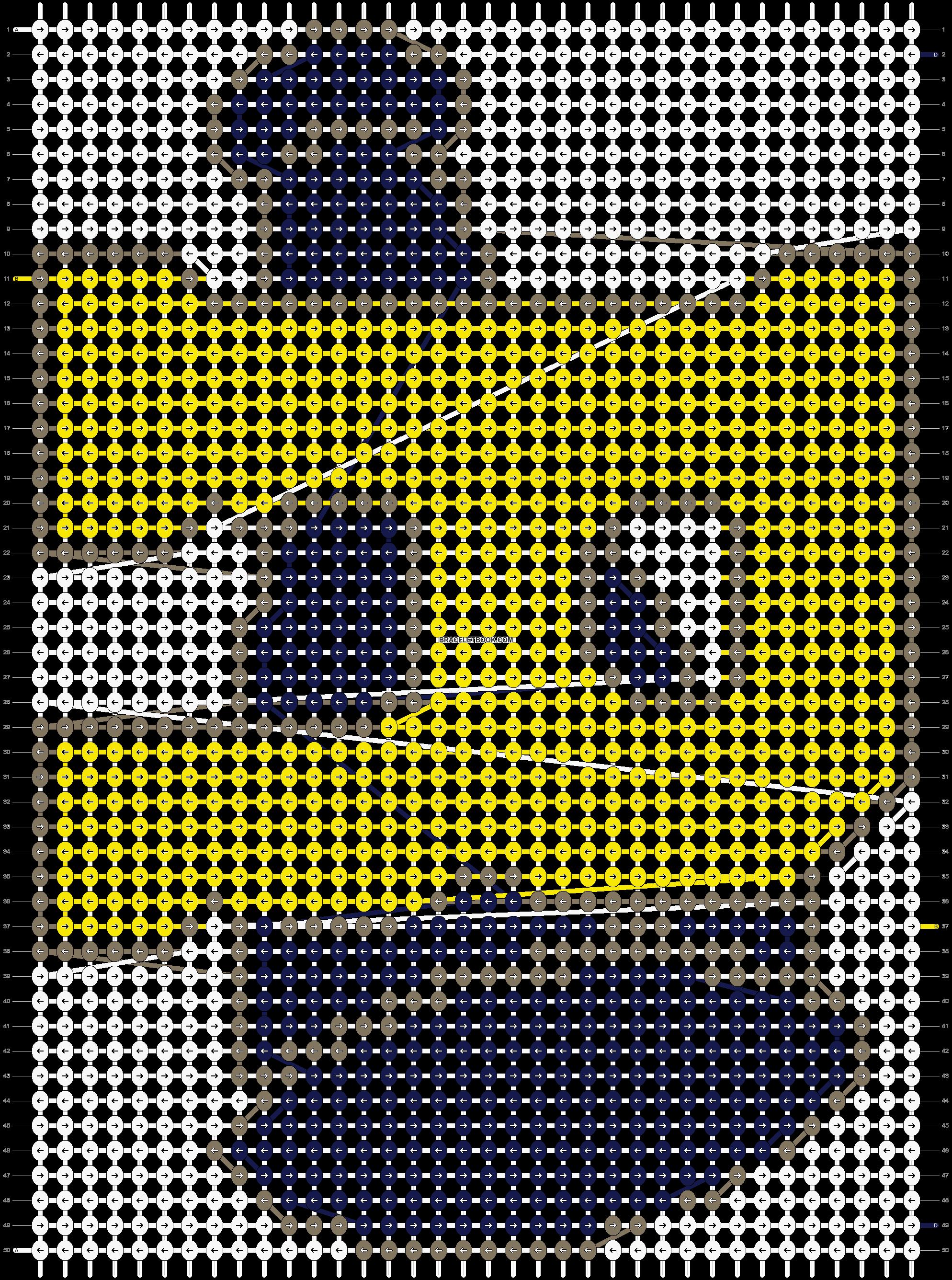 Alpha pattern #49736 pattern