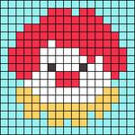 Alpha pattern #49739