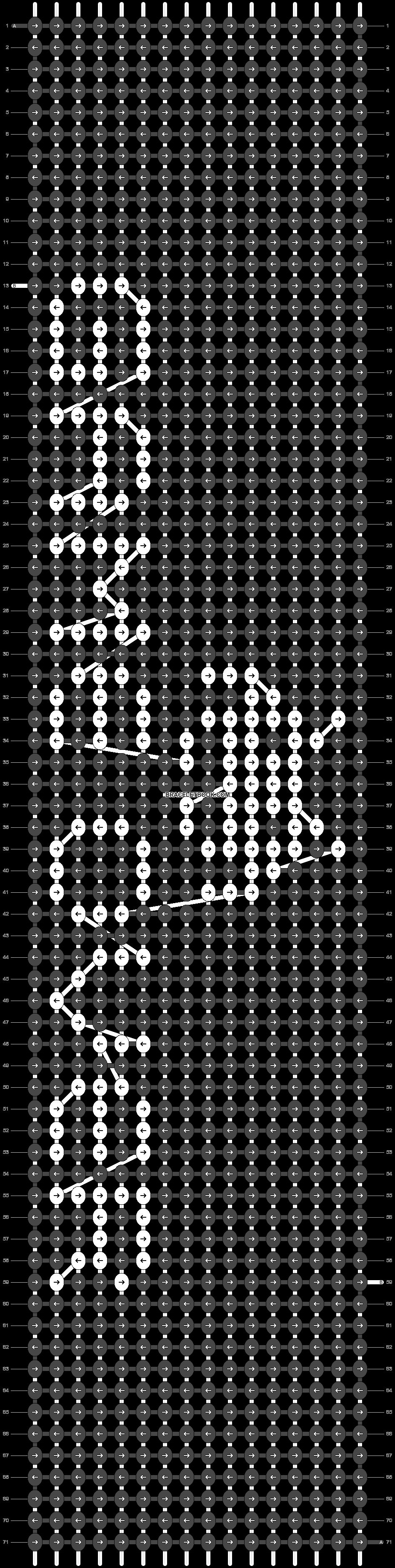 Alpha pattern #49740 pattern