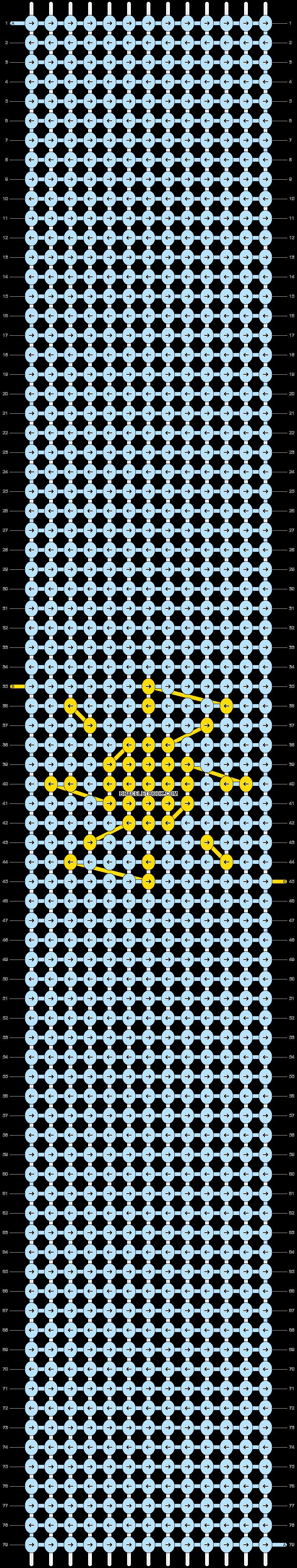 Alpha pattern #49753 pattern
