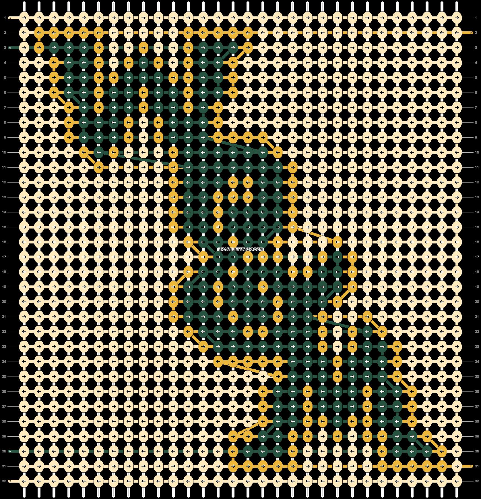 Alpha pattern #49774 pattern