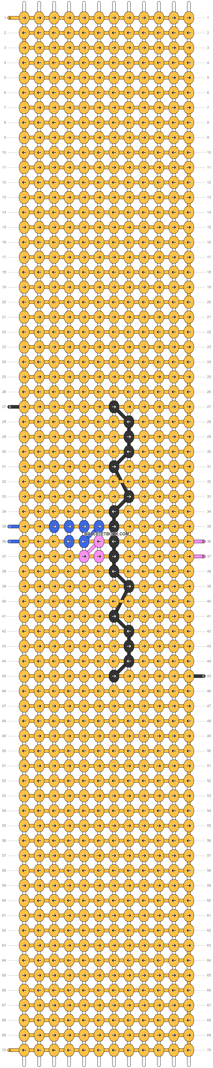 Alpha pattern #49794 pattern