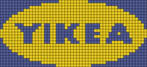 Alpha pattern #49796