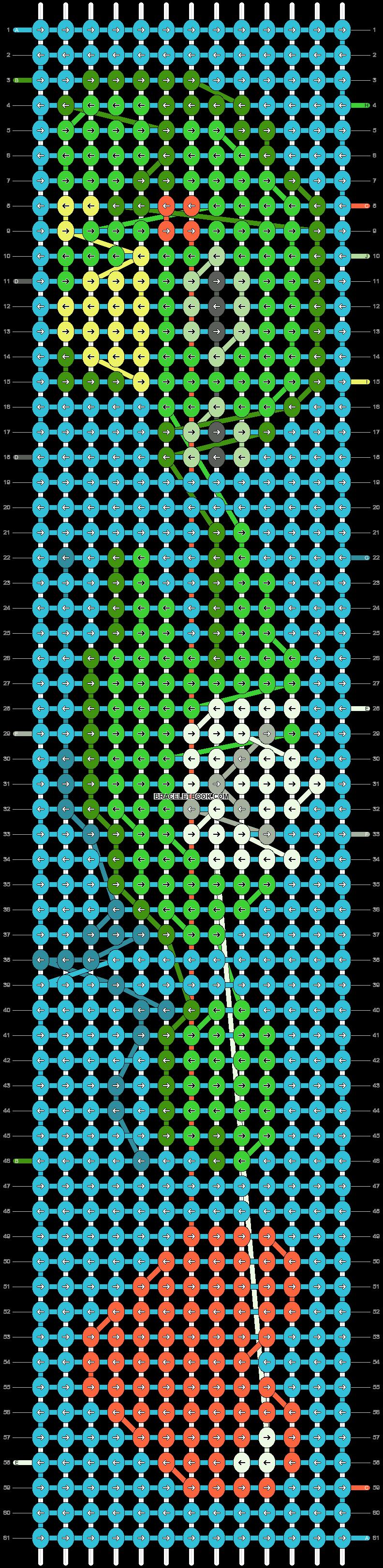 Alpha pattern #49802 pattern