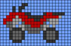Alpha pattern #49809