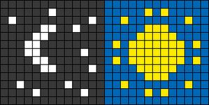 Alpha pattern #49816