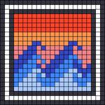 Alpha pattern #49822