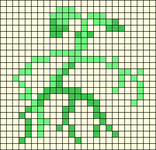 Alpha pattern #49833