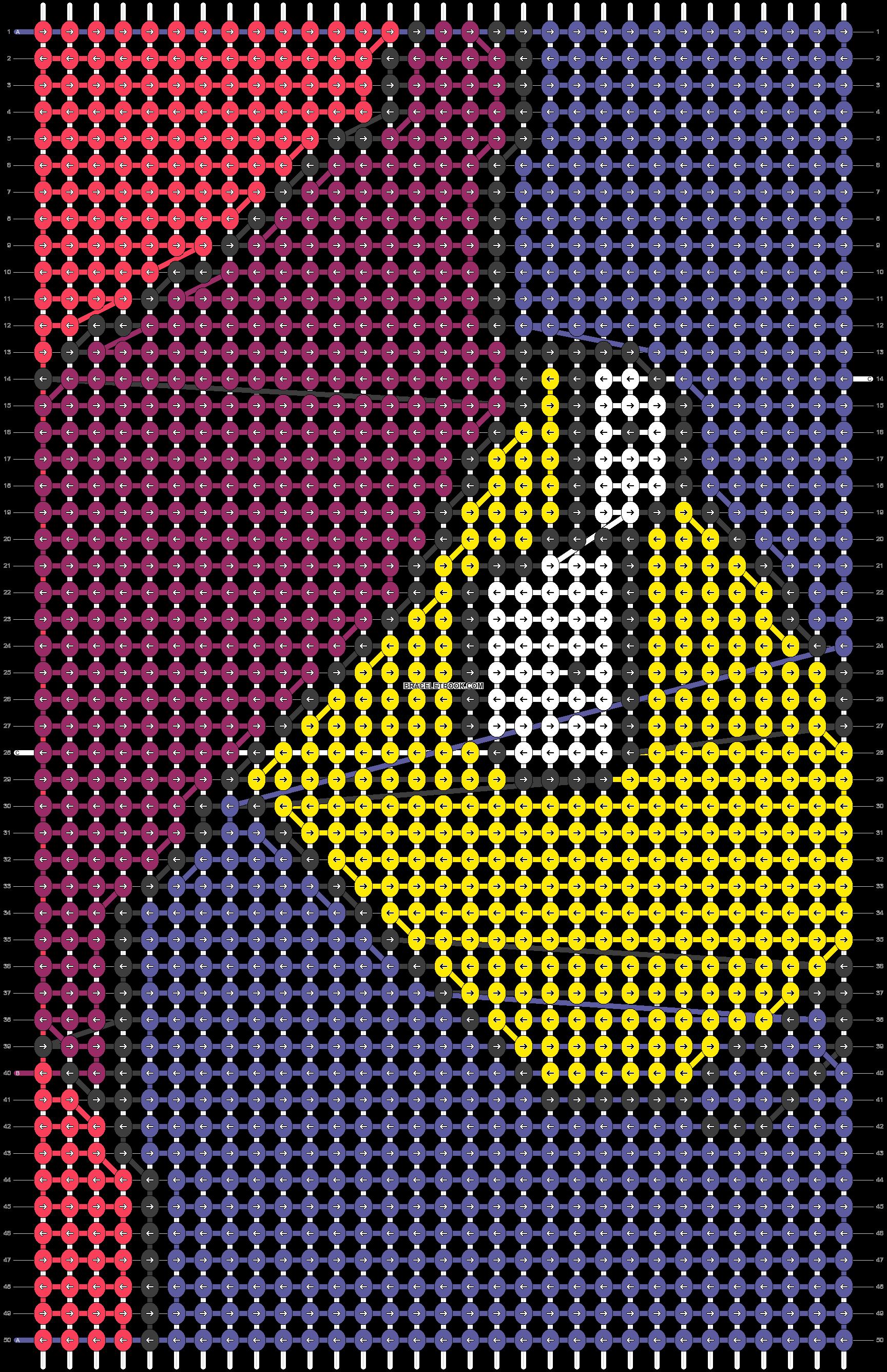 Alpha pattern #49840 pattern