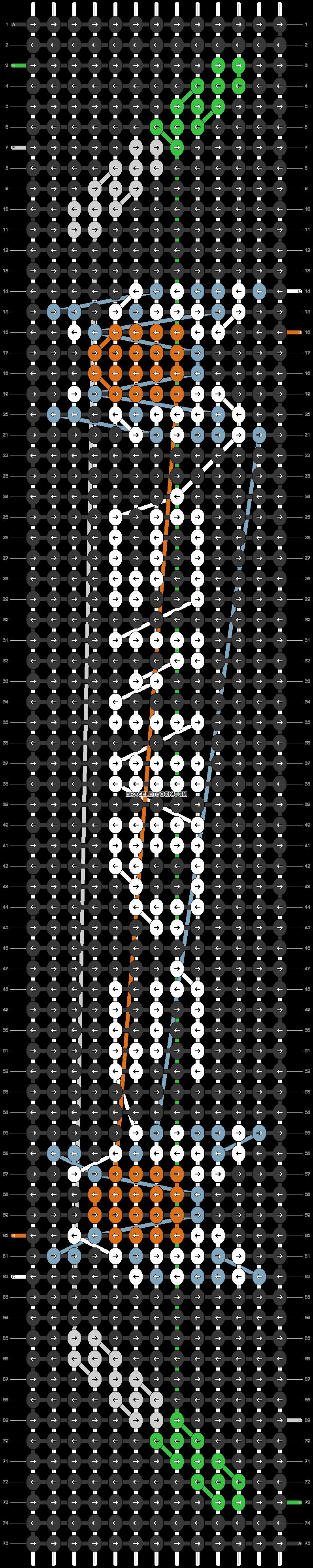 Alpha pattern #49890 pattern