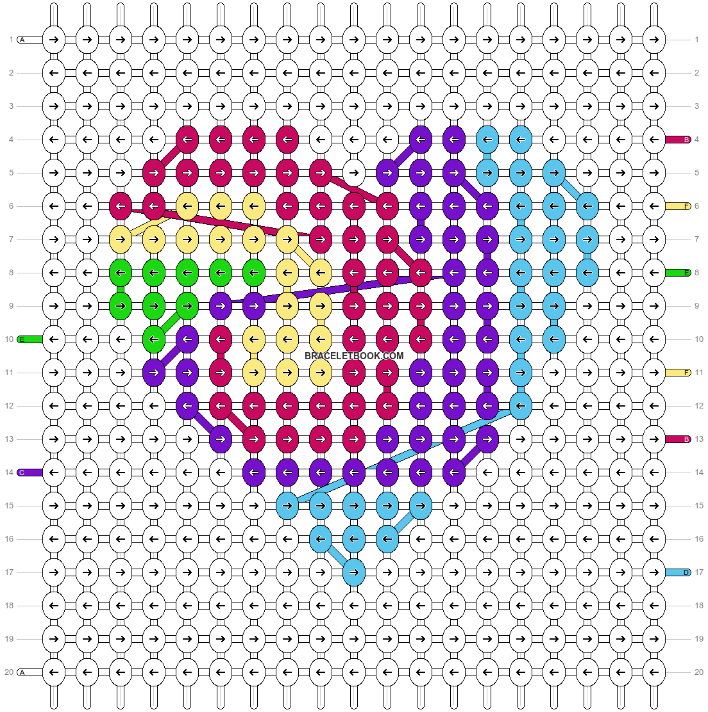 Alpha pattern #49891 pattern