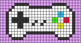 Alpha pattern #49898