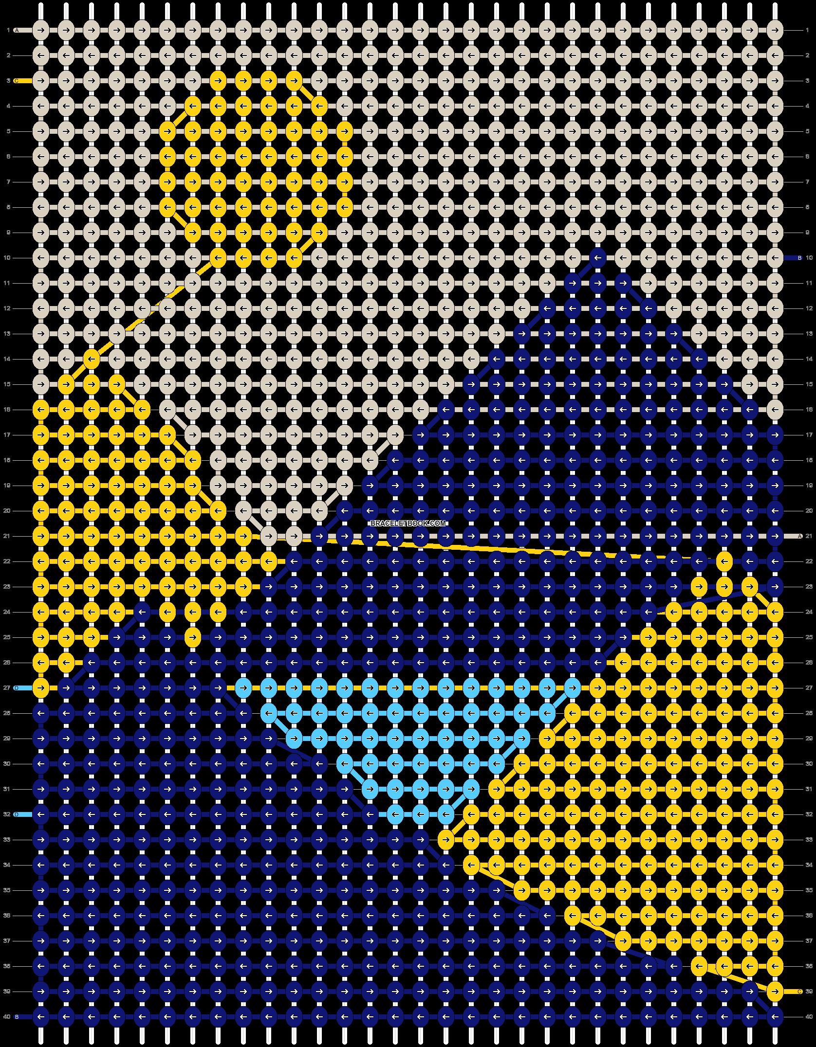 Alpha pattern #49909 pattern