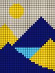 Alpha pattern #49909