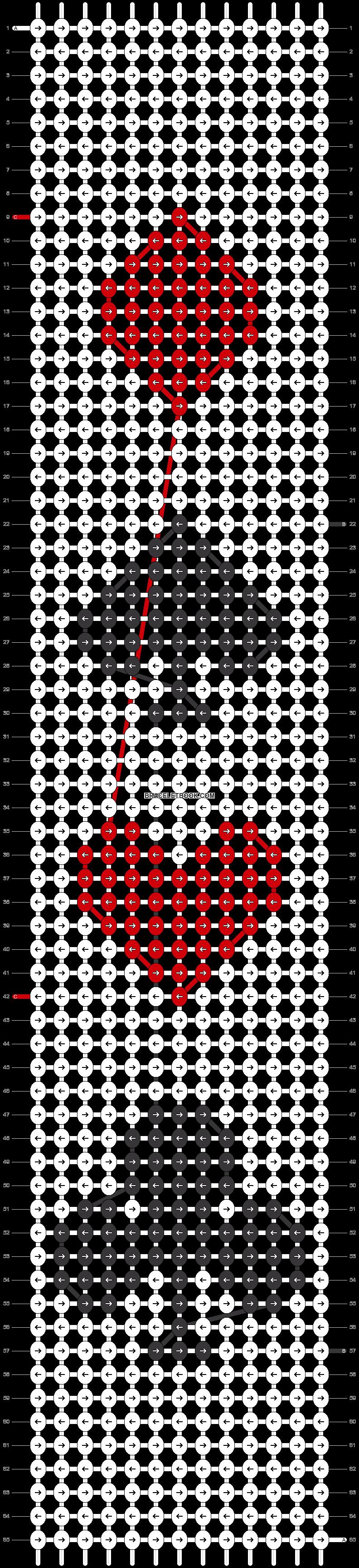 Alpha pattern #49929 pattern