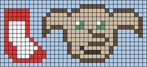Alpha pattern #49945