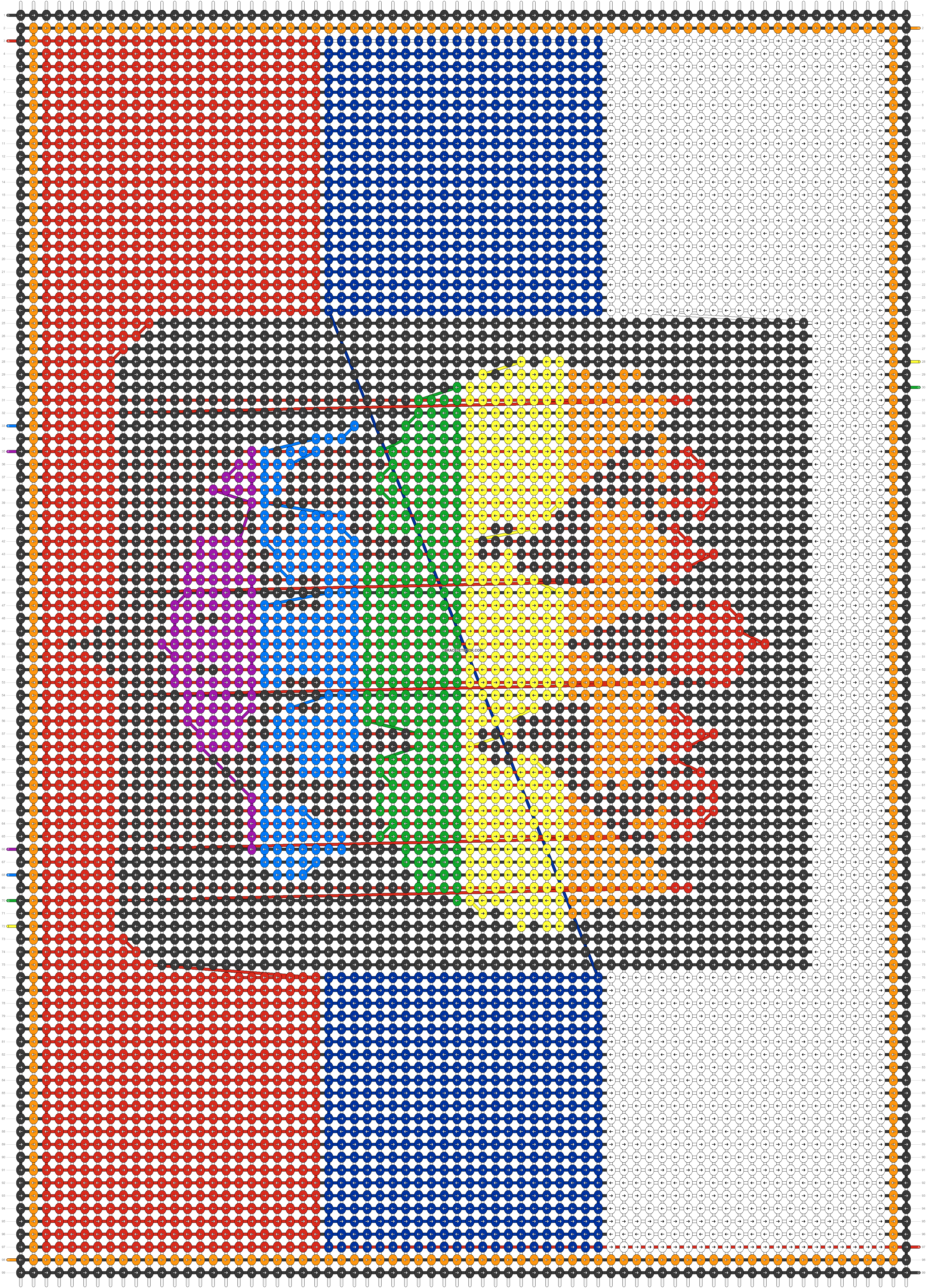 Alpha pattern #49949 pattern