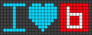 Alpha pattern #49972