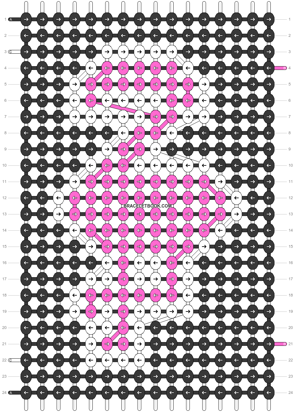 Alpha pattern #49981 pattern
